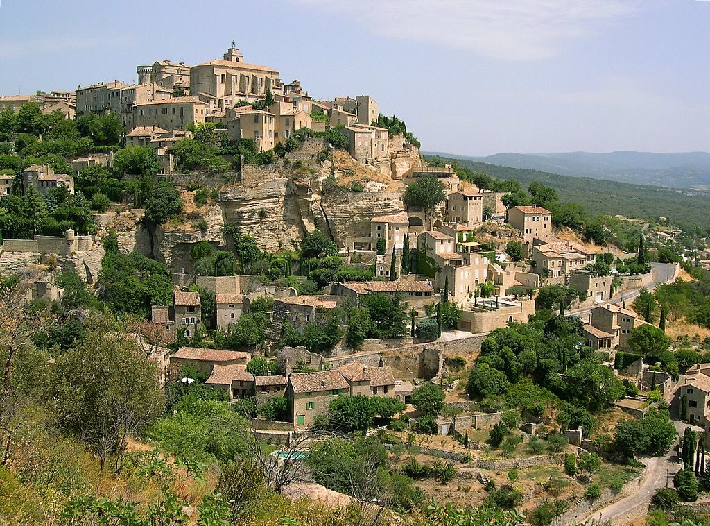 gordes village luberon south france