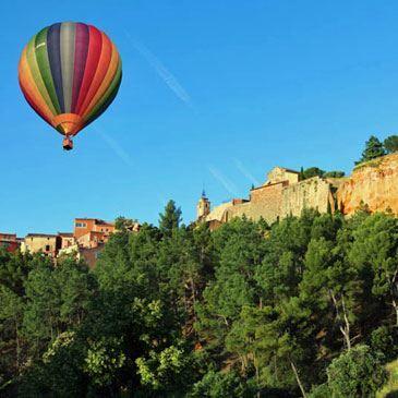hot air ballon rental luberon south france